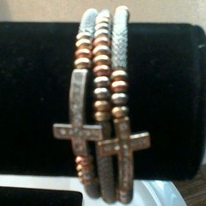 Jewelry - Cross warp bracelet